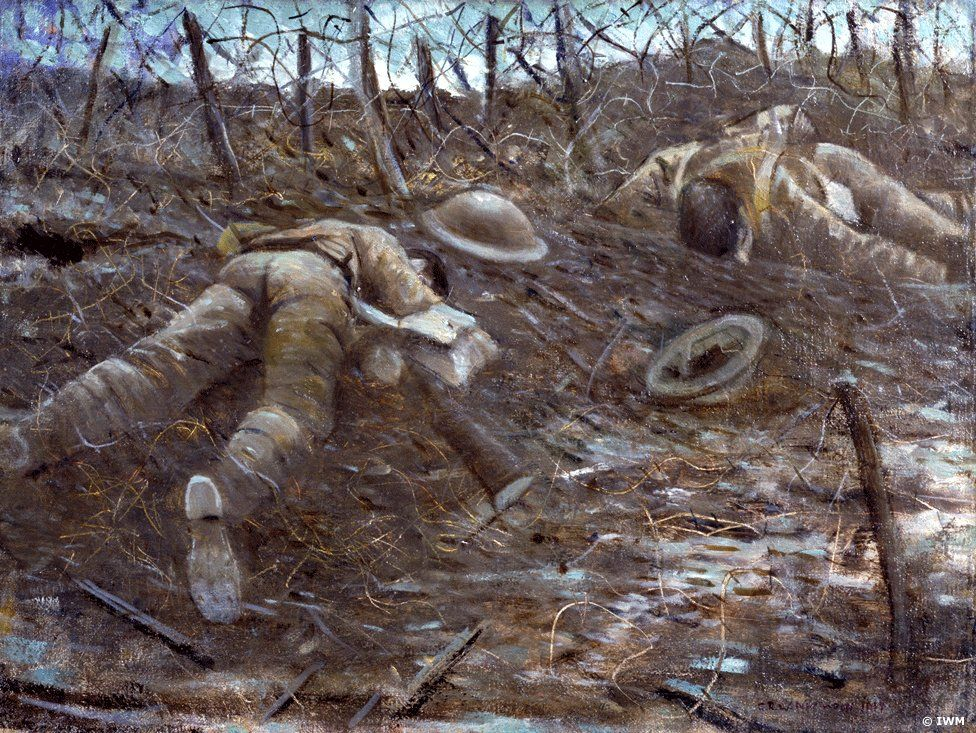 Imperial War Museum, Paths of Glory (1917) by CRW Nevinson