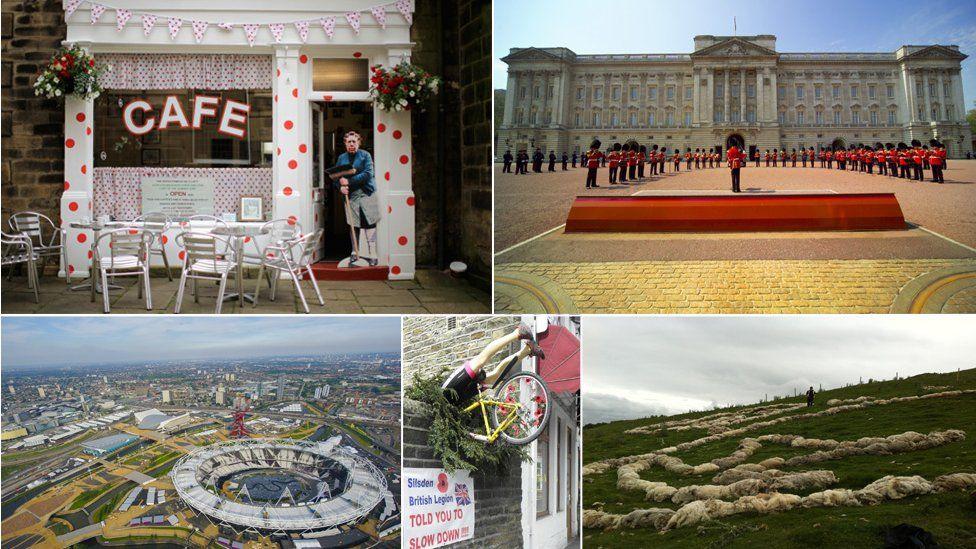 sights of le tour