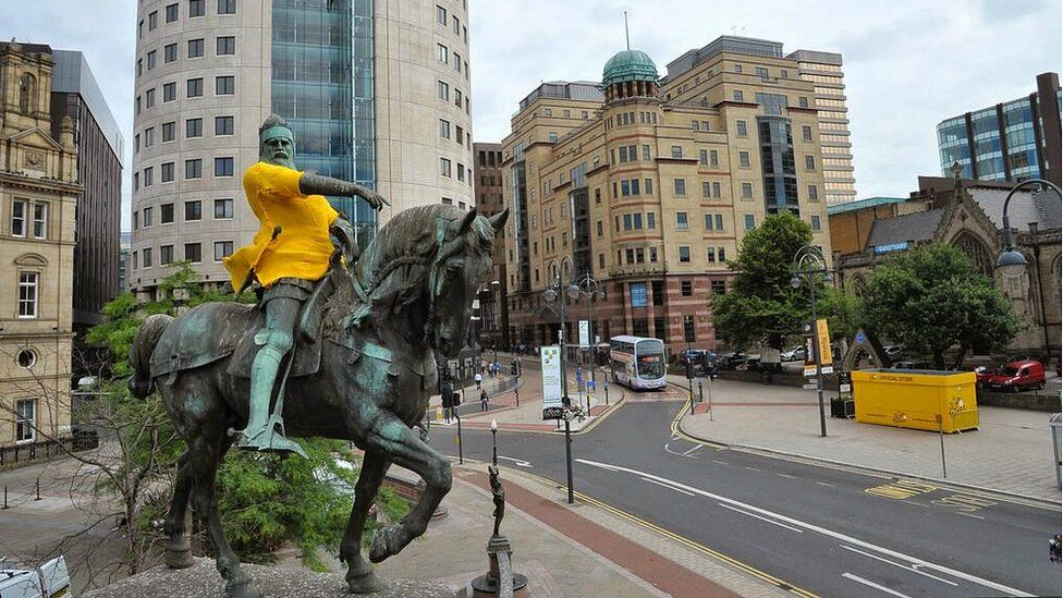 The Black Prince in Leeds gets a yellow jersey