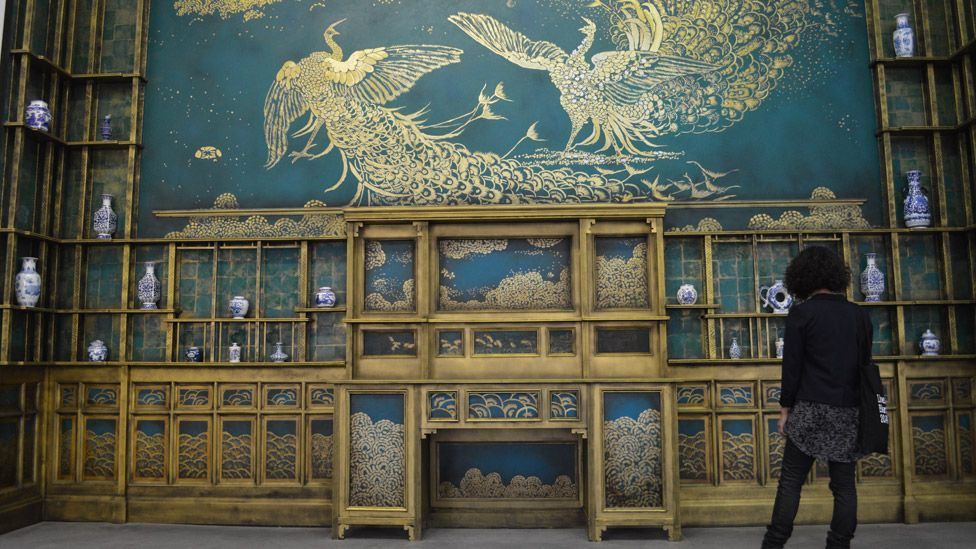 James McNeill Whistler - Harmony in Blue and Gold: The Peacock Room at the Bluecoat