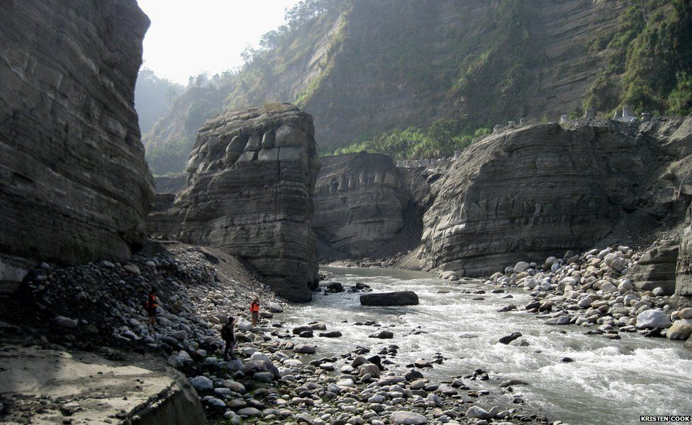Daan River gorge