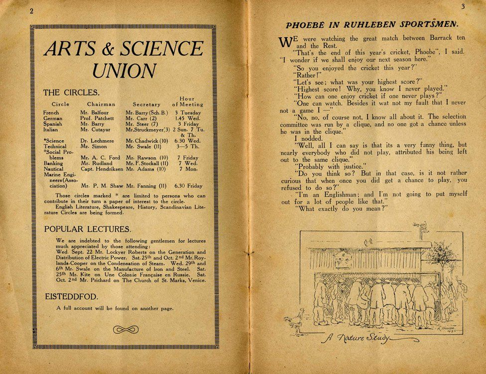 The arts and science union