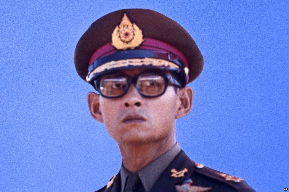 Adulyadej Bhumibol, King of Thailand, 1972