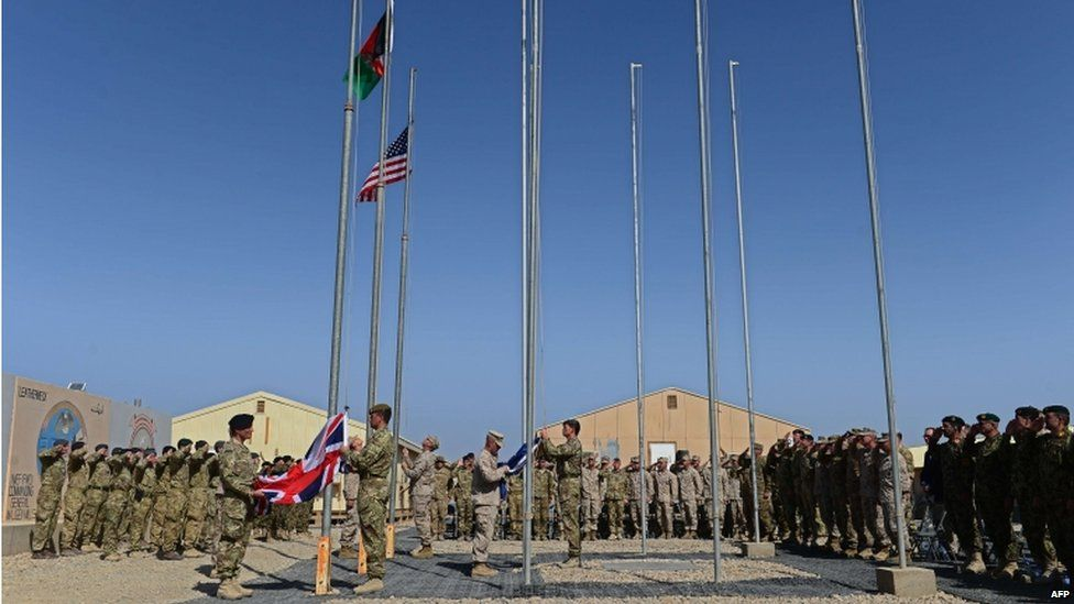 The UK base at Camp Bastion and the adjoining US base, Camp Leatherneck, were both handed over to Afghan forces at a ceremony on October 26, 2014