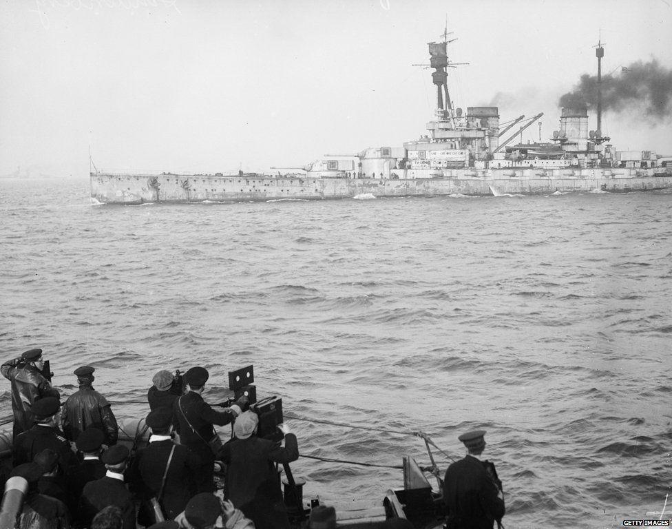 Surrendering at Scapa Flow