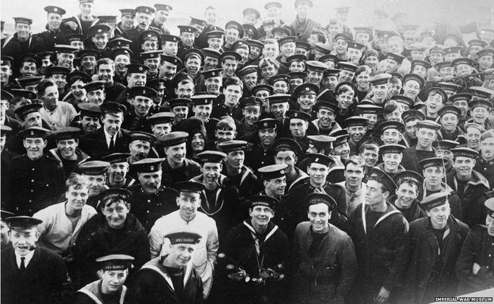 Crew of HMS Barham