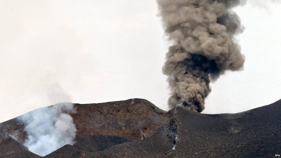 Pico do Fogo volcano