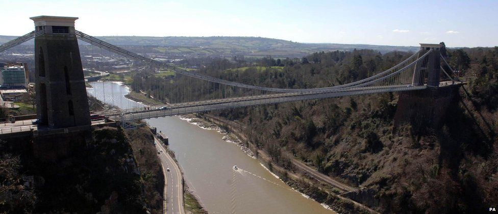 Clifton Suspension Bridge - as it is now