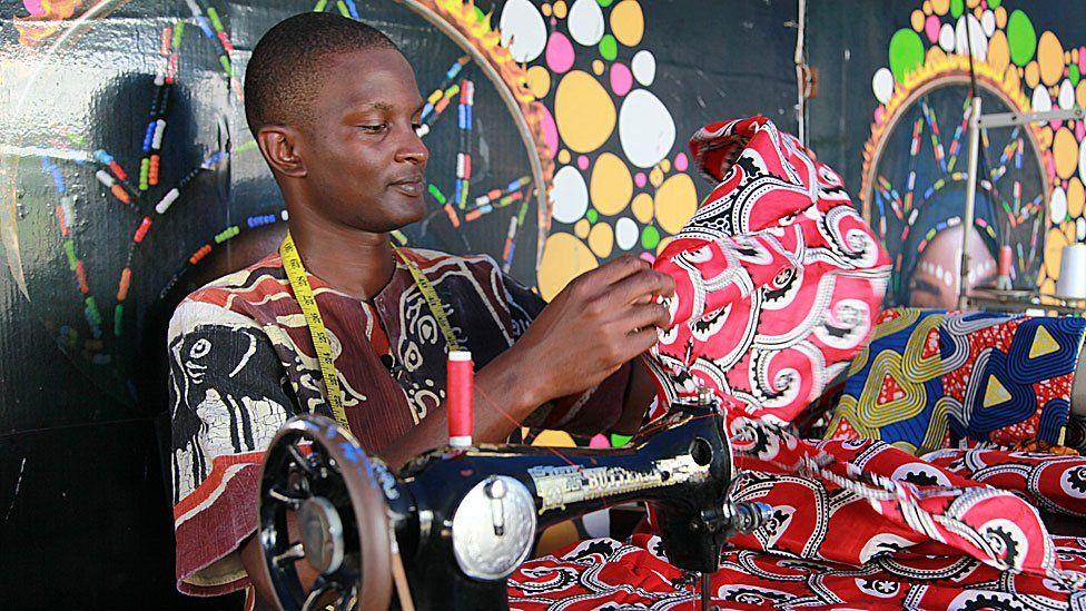 Tumaini, Mama Africa's tailor