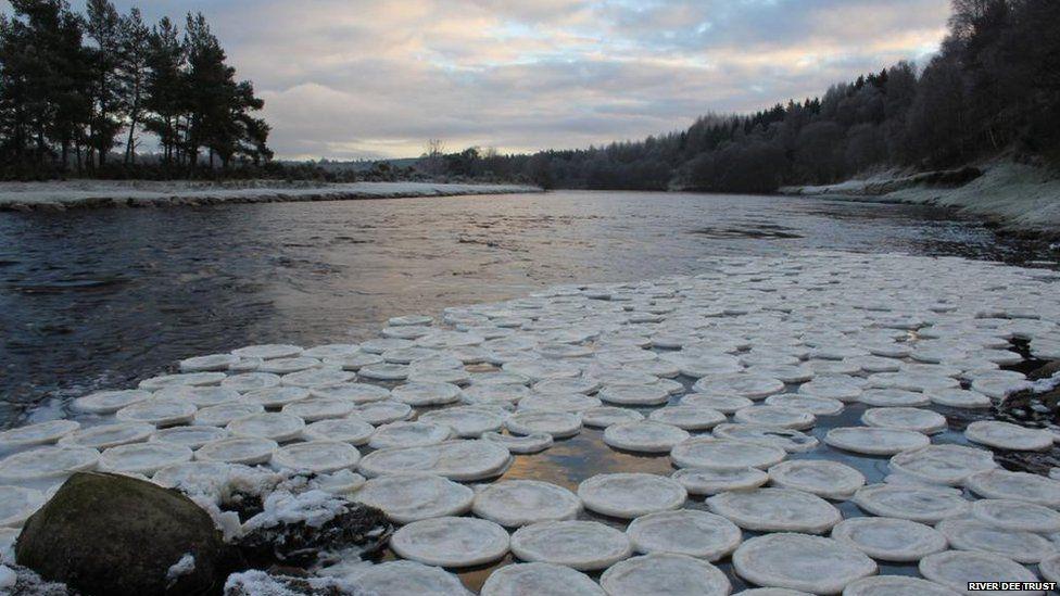 Ice pancakes