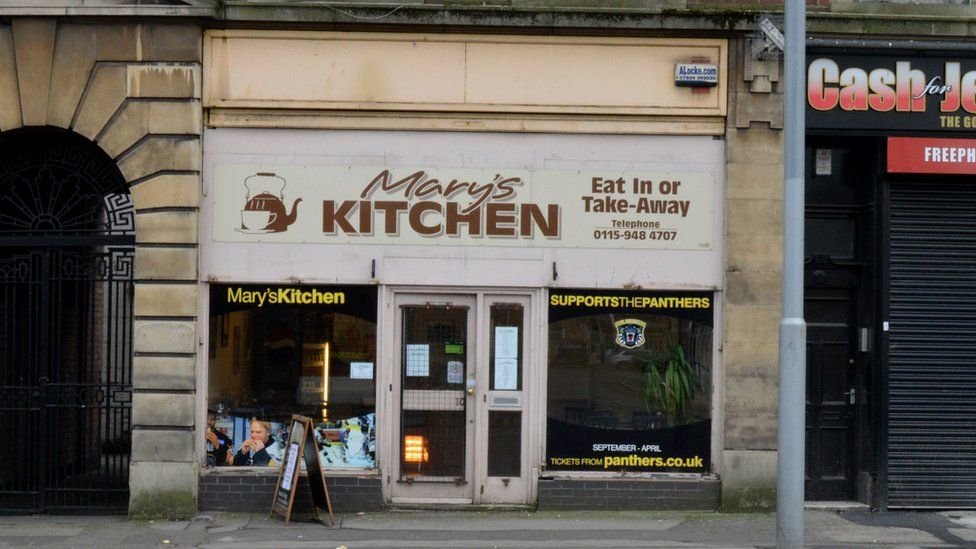 Mary's Kitchen in Nottingham
