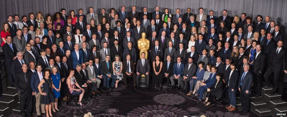 Nominees for the 87th Oscars at the Nominees Luncheon at the Beverly Hilton, Monday, 2 February, 2015.