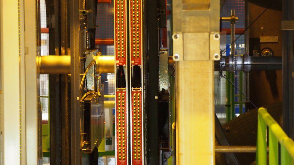 beam pipe in LHCb