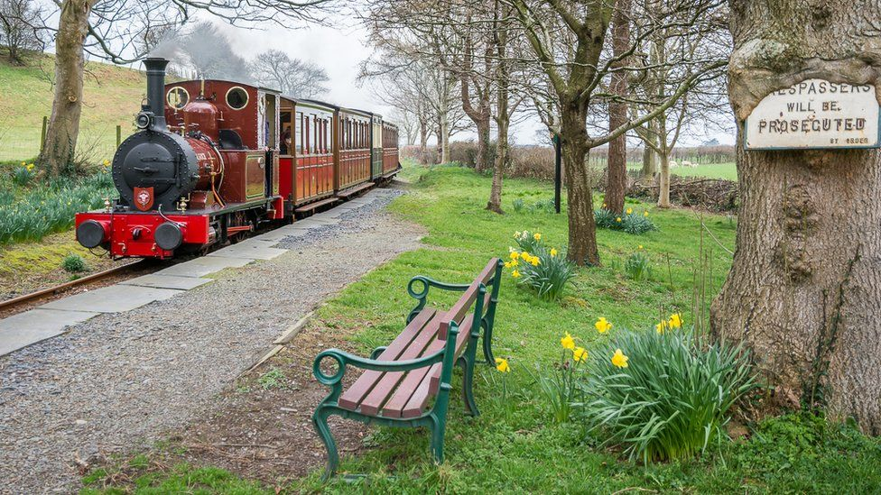 Darren Turner took this shot of the Dolgoch steam locomotive, also known as the 'Old Lady', on the Talyllyn Railway in Snowdonia