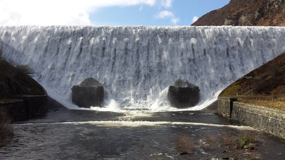 Angela Forster took this picture of the Caban Coch Dam just behind the Elan Valley Visitor Centre in Powys