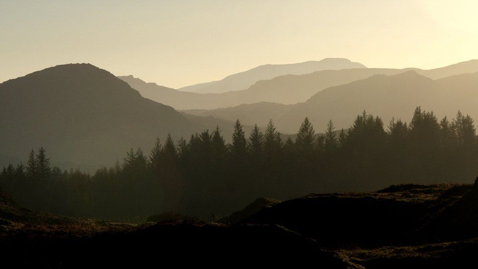 Canisp foothills