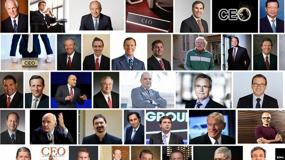 Images of male CEOs