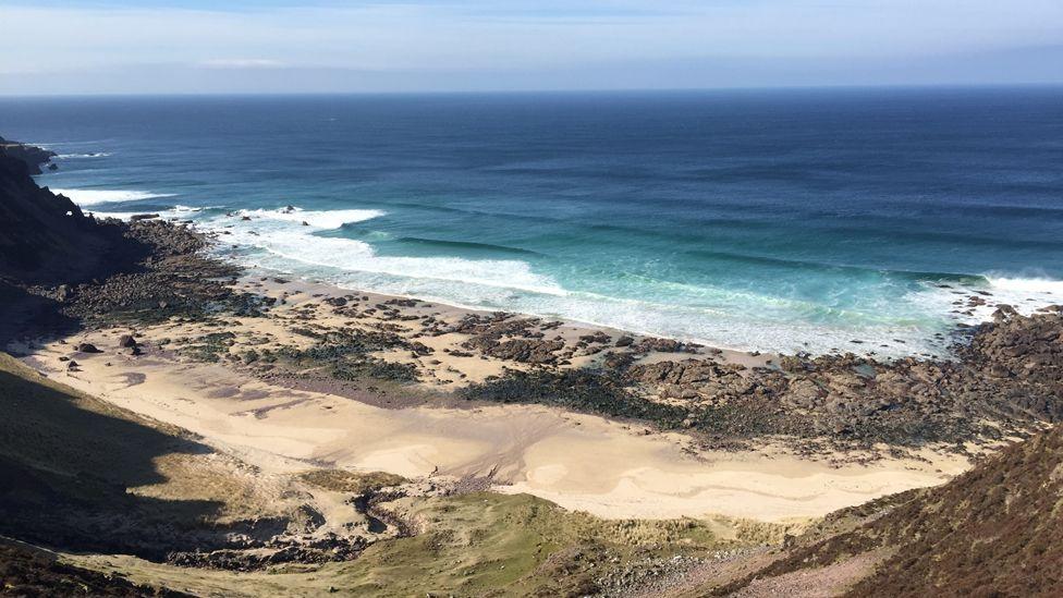 Camas Mor beach