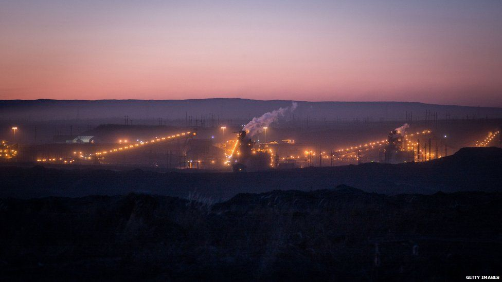 : The Horizon CNRL oil sands site, on April 27th, 2015 outside of Fort McMurray, Canada.