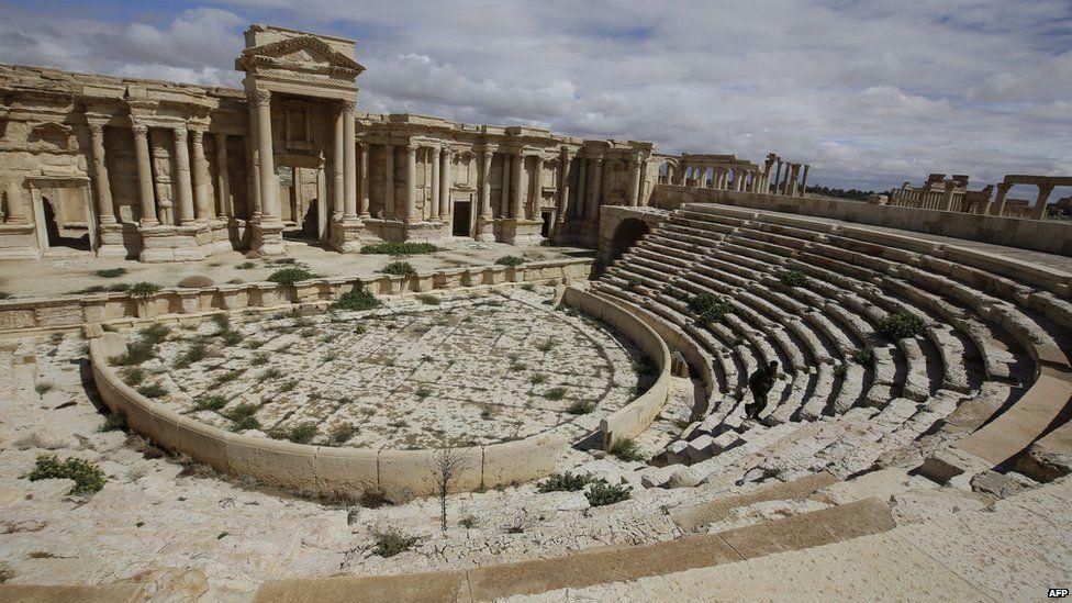 Theatre at Palmyra - file photo