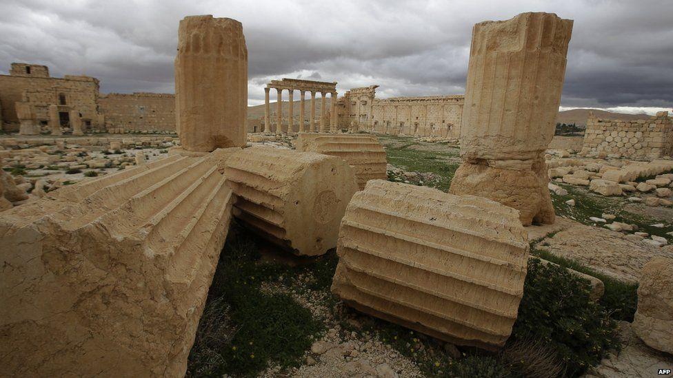Ruins at Palmyra (file photo)