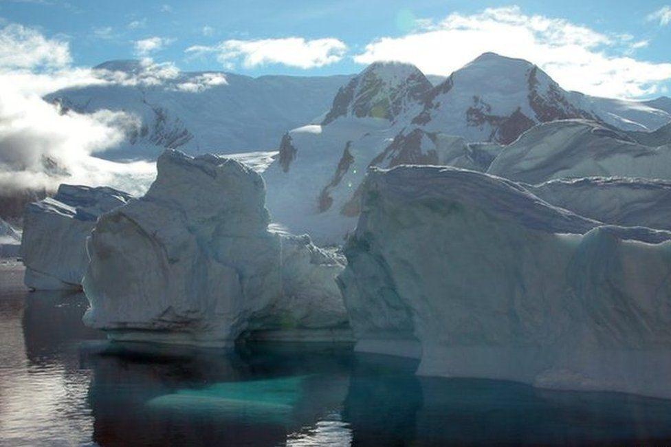 Antarctica coast