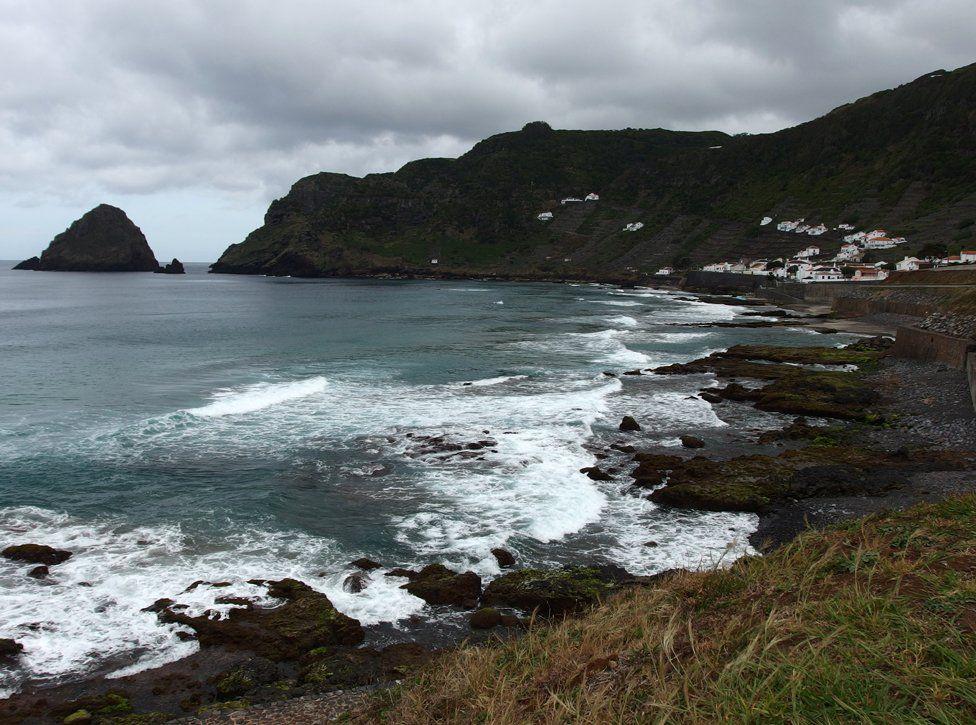 Coastline at Maia, Santa Maria