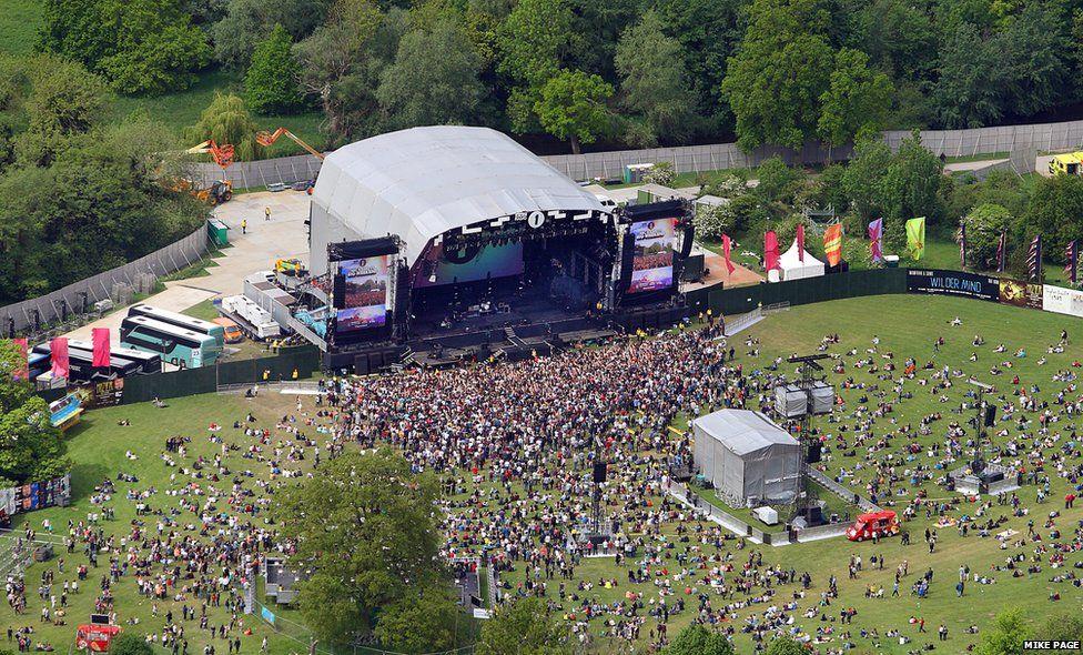 Radio 1 Big Weekend site