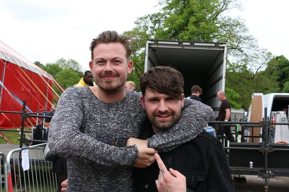 Ben Sansom and Mike Duce