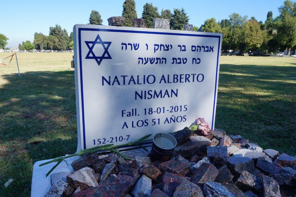 Alberto Nisman's grave