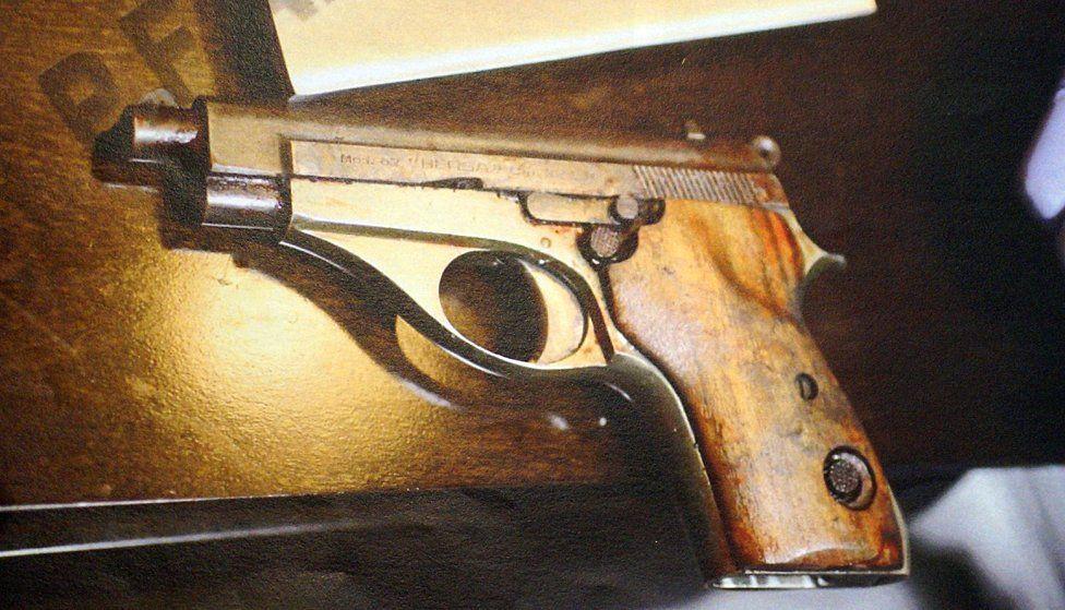 The gun that killed Nisman