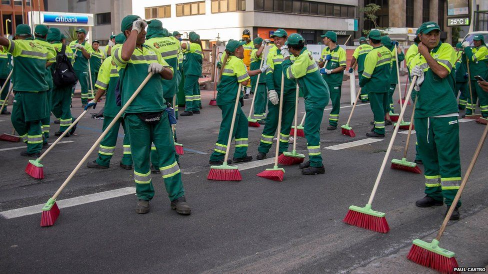 Cleaners in Brazil