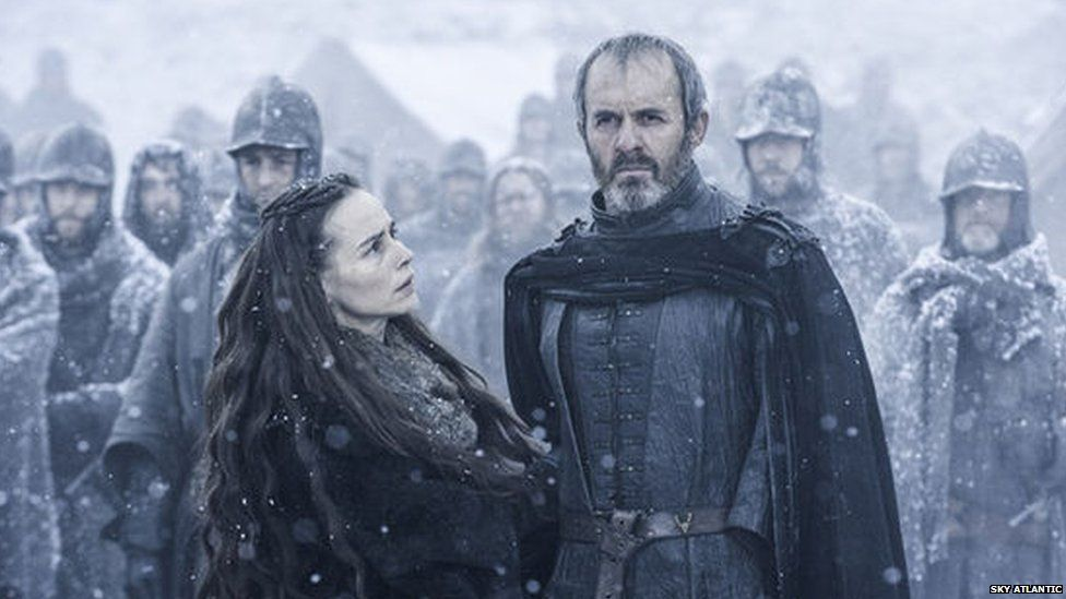 Selyse and Stannis in The Dance of Dragons