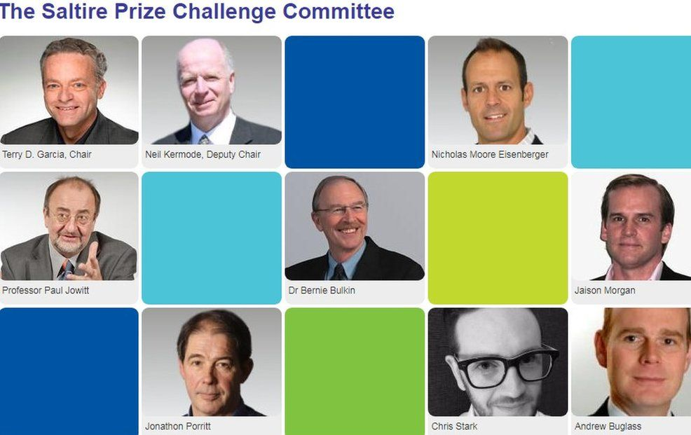 Saltire Prize Challenge Committee screen grab