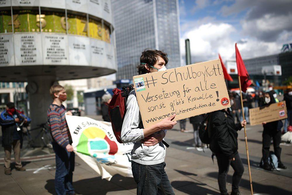 Protest in Berlin