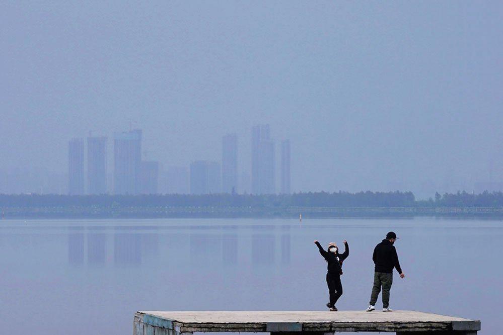 People in Wuhan