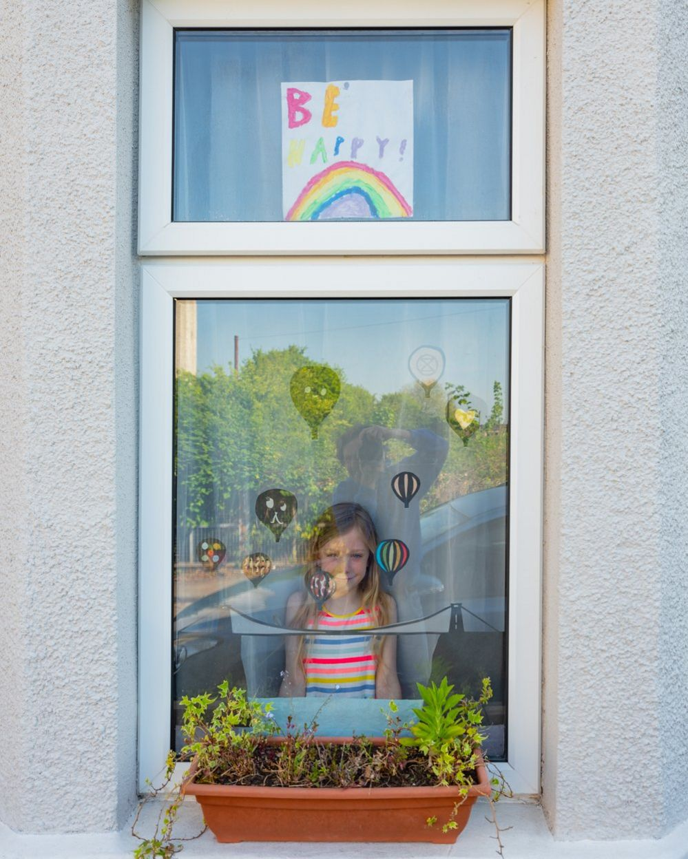 Alice at the window