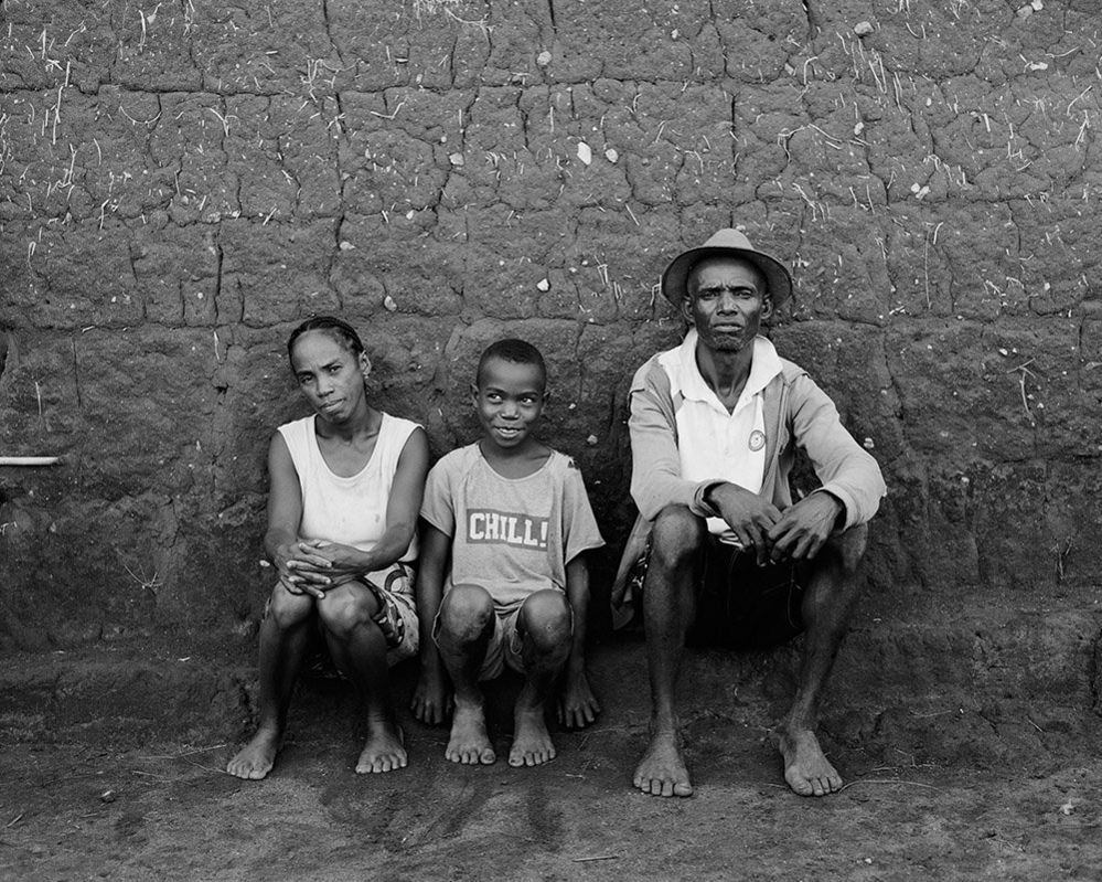 Jean-Pierre his wife and their son in Ambatoantrano