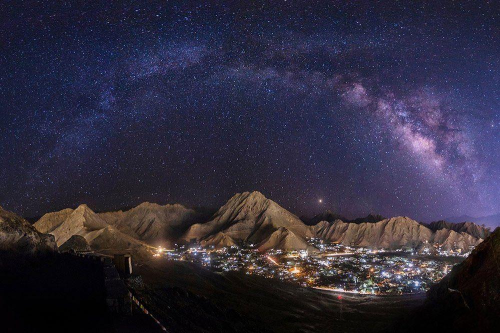 Ladakh at night