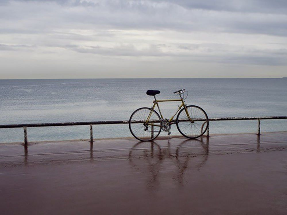 Bicycle on the promenade