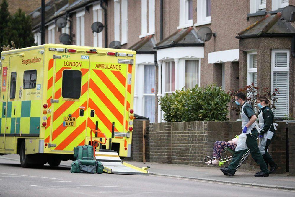 Paramedics in Lewisham