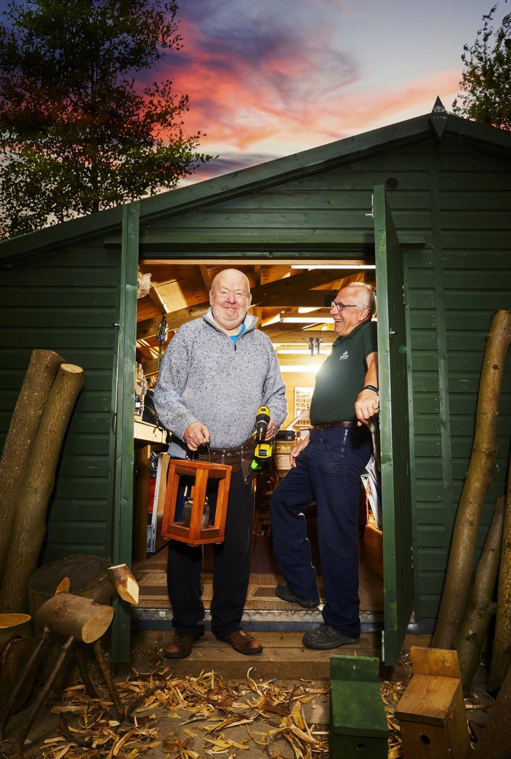 Roger Beament and Timothy Tempest, Sherwood Sheds Project, Tunbridge Wells, Kent