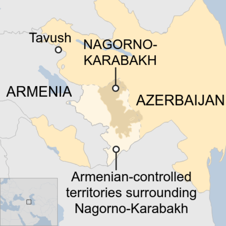 Azerbaijan General Among Troops Killed In Armenia Border Clash Bbc News