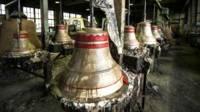 Колокол на заводе в Тутаеве