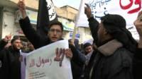 احتجاجات في دول إسلامية على الرسوم الساخرة من النبي محمد