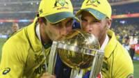 ऑस्ट्रेलियाई टीम जीत के बाद