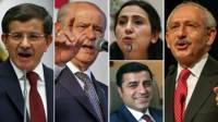 Davutoğlu, Bahçeli, Yüksekdağ, Demirtaş, Kılıçdaroğlu
