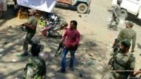 वारदात के बाद इलाके में तनाव, बड़े पैमाने पर पुलिस बल की तैनाती
