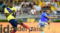 Brasil empata con Ecuador