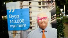 Cartaz de político na Suécia / Crédito: Dagens Nyheter